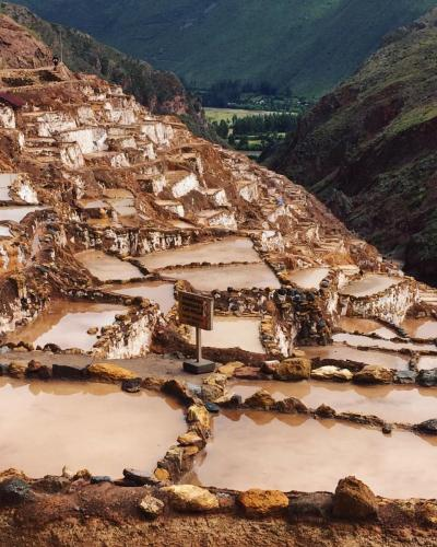 The fabulous Salt ponds of Maras in Cusco - Peru